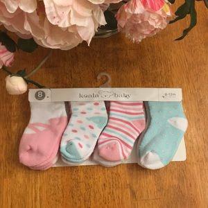 NWT koala baby 8 pack of socks